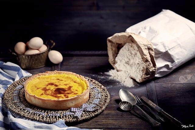 Il flan Patissier: torta alla crema pasticcera