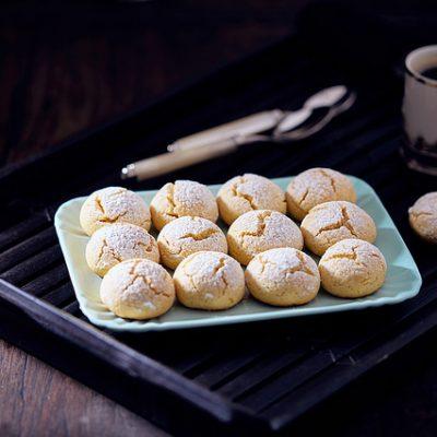 Biscottini al limone e vaniglia