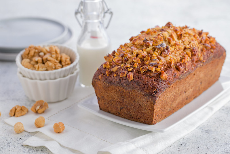Banana Bread with Nuts